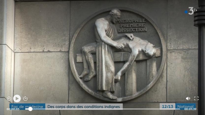 Faculté de médecine : des corps donnés à la science conservés dans des conditions indignes (VIDEO)