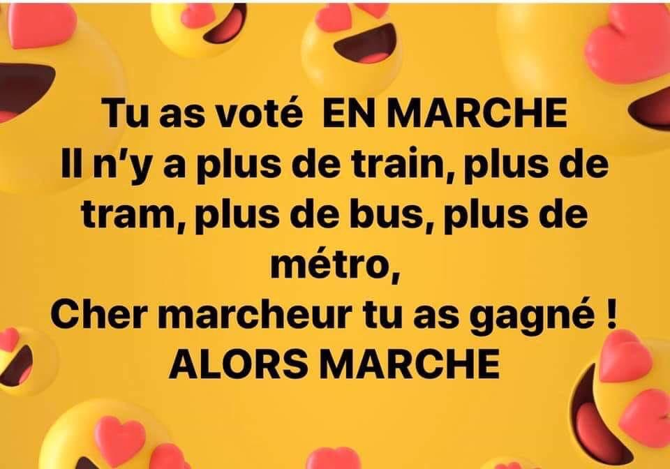 "Tu as voté ""En Marche"" ?"