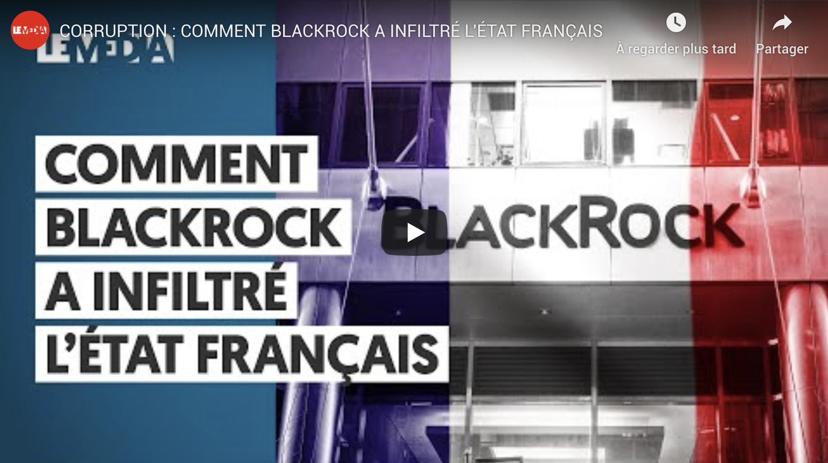 Corruption : Comment Blackrock a infiltré l'État français (VIDÉO)