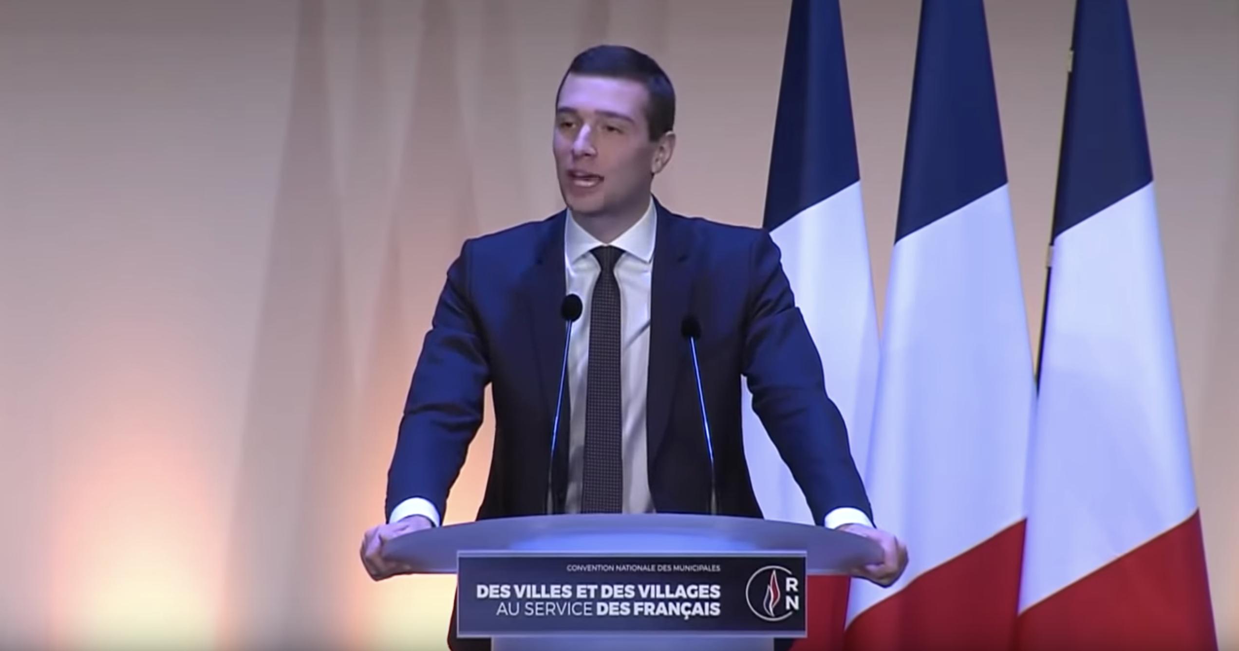 Discours de Jordan Bardella pour la Convention des municipales 2020 du Rassemblement National (VIDÉO)
