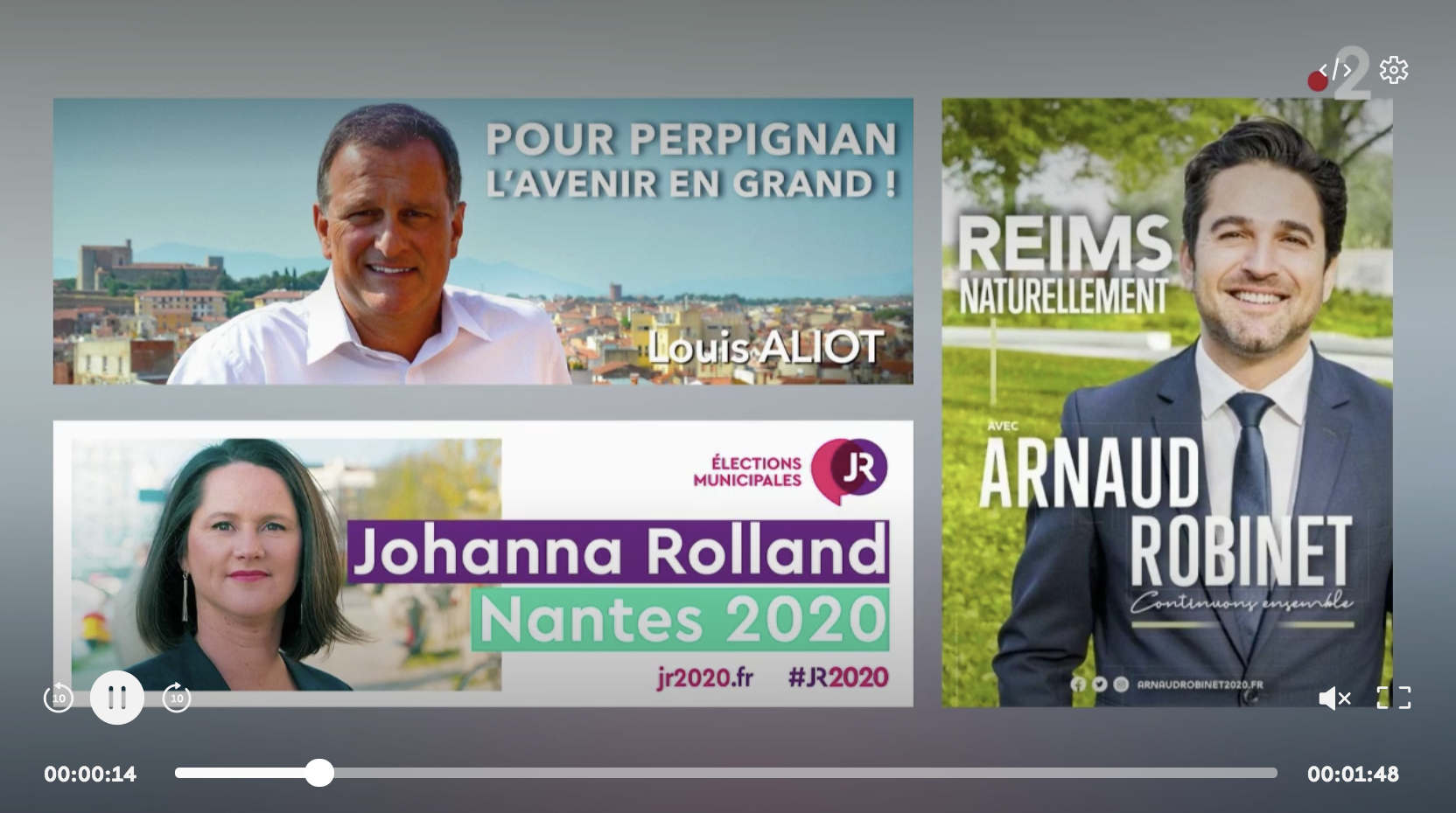 Municipales : les candidats ne veulent plus mettre en avant leur parti