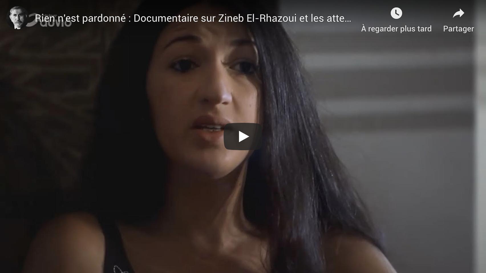 """""""Rien n'est pardonné"""" : documentaire sur Zineb El-Rhazoui et les attentats de """"Charlie Hebdo"""" (VIDÉO)"""