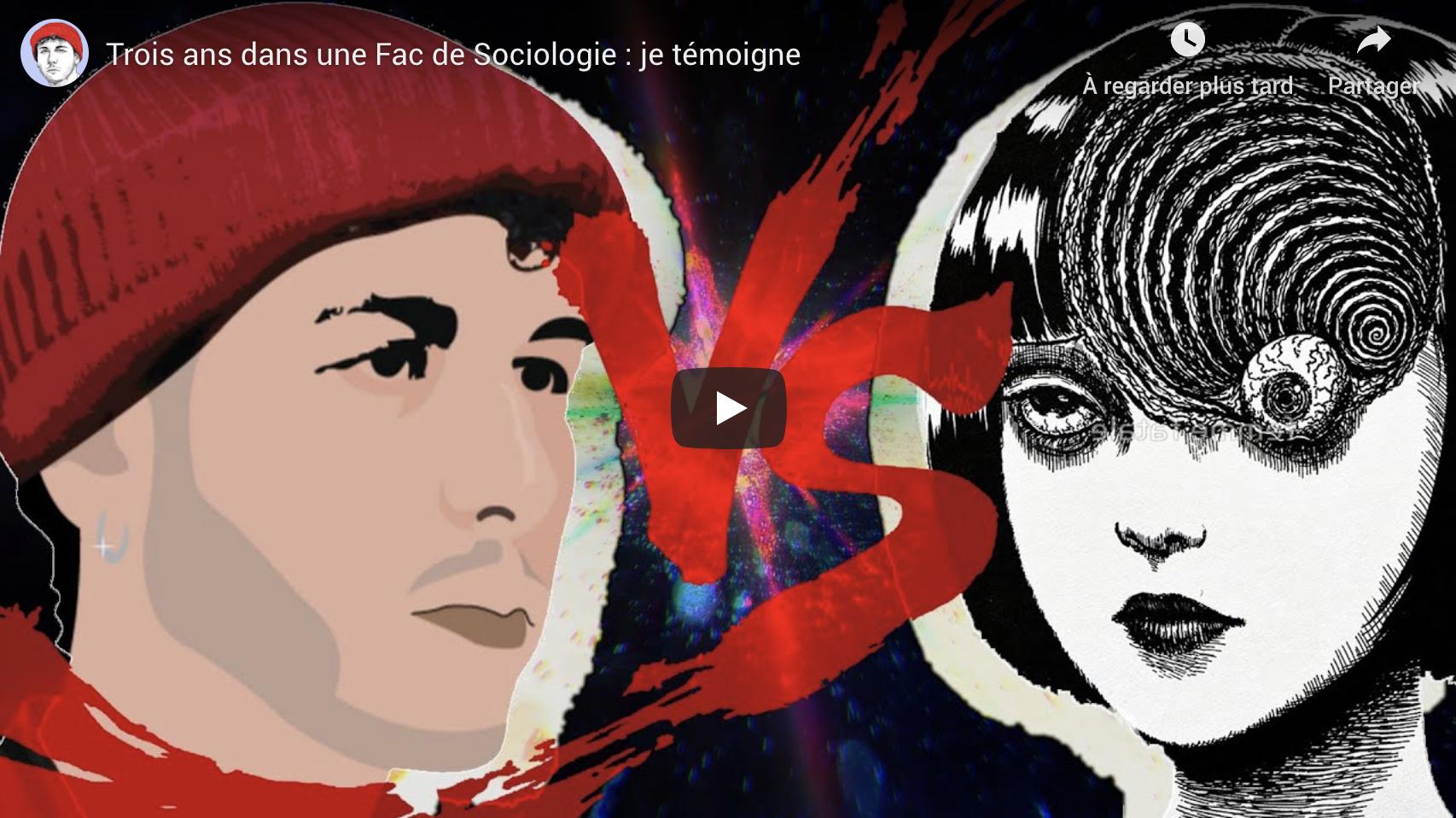 """""""Trois ans dans une fac de sociologie : je témoigne"""" (VIDÉO)"""