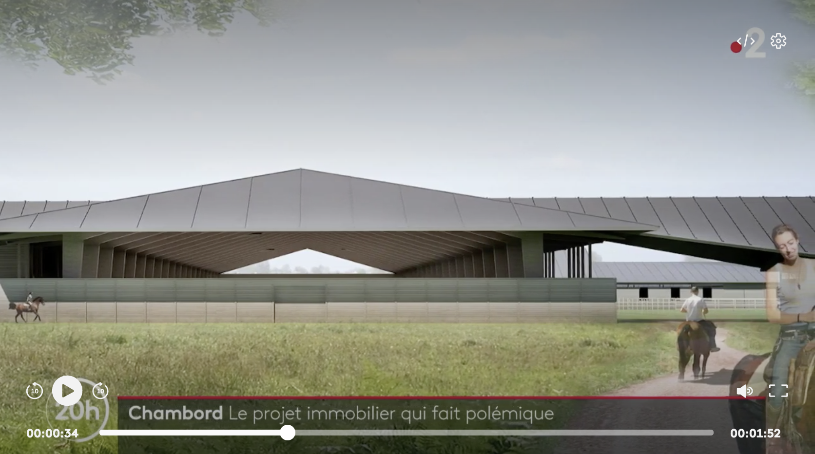 Loir-et-Cher : un gigantesque et hideux projet immobilier pour nouveaux riches fait polémique à Chambord (VIDÉO)