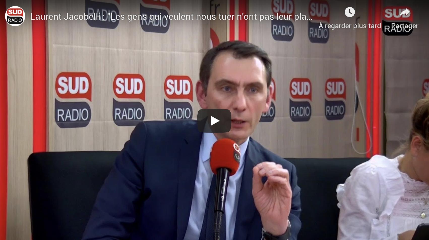 """Laurent Jacobelli (RN) : """"Les gens qui veulent nous tuer n'ont pas leur place en France"""" (VIDÉO)"""