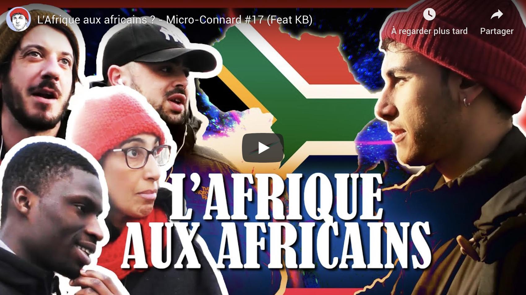 L'Afrique aux Africains ? (Micro-Connard)