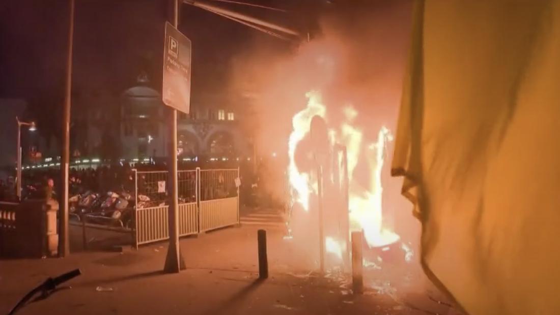 Gilets jaunes : une fin de manifestation mouvementée (VIDÉOS)