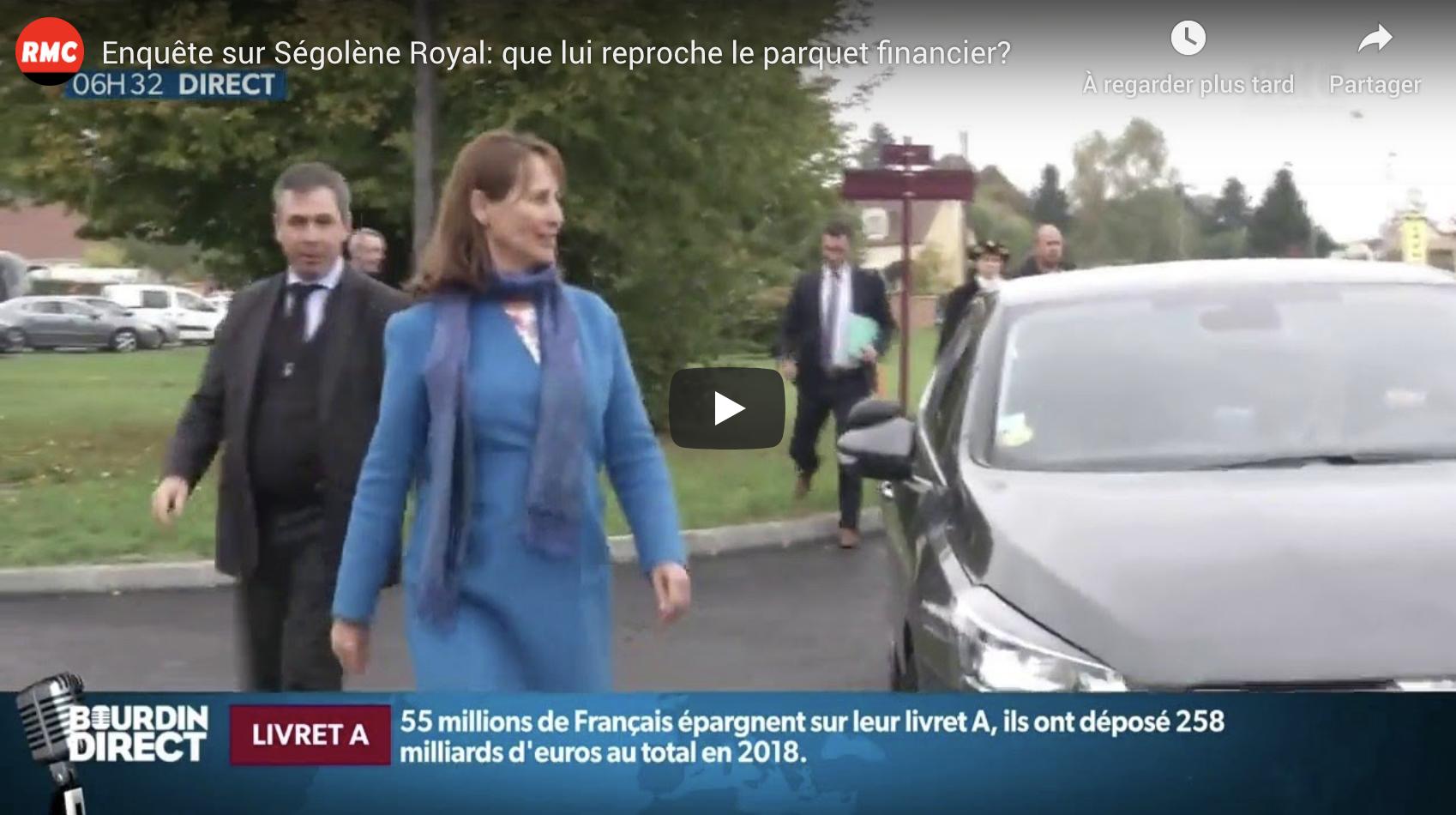 Enquête sur Ségolène Royal : que lui reproche le parquet financier ? (VIDÉO)
