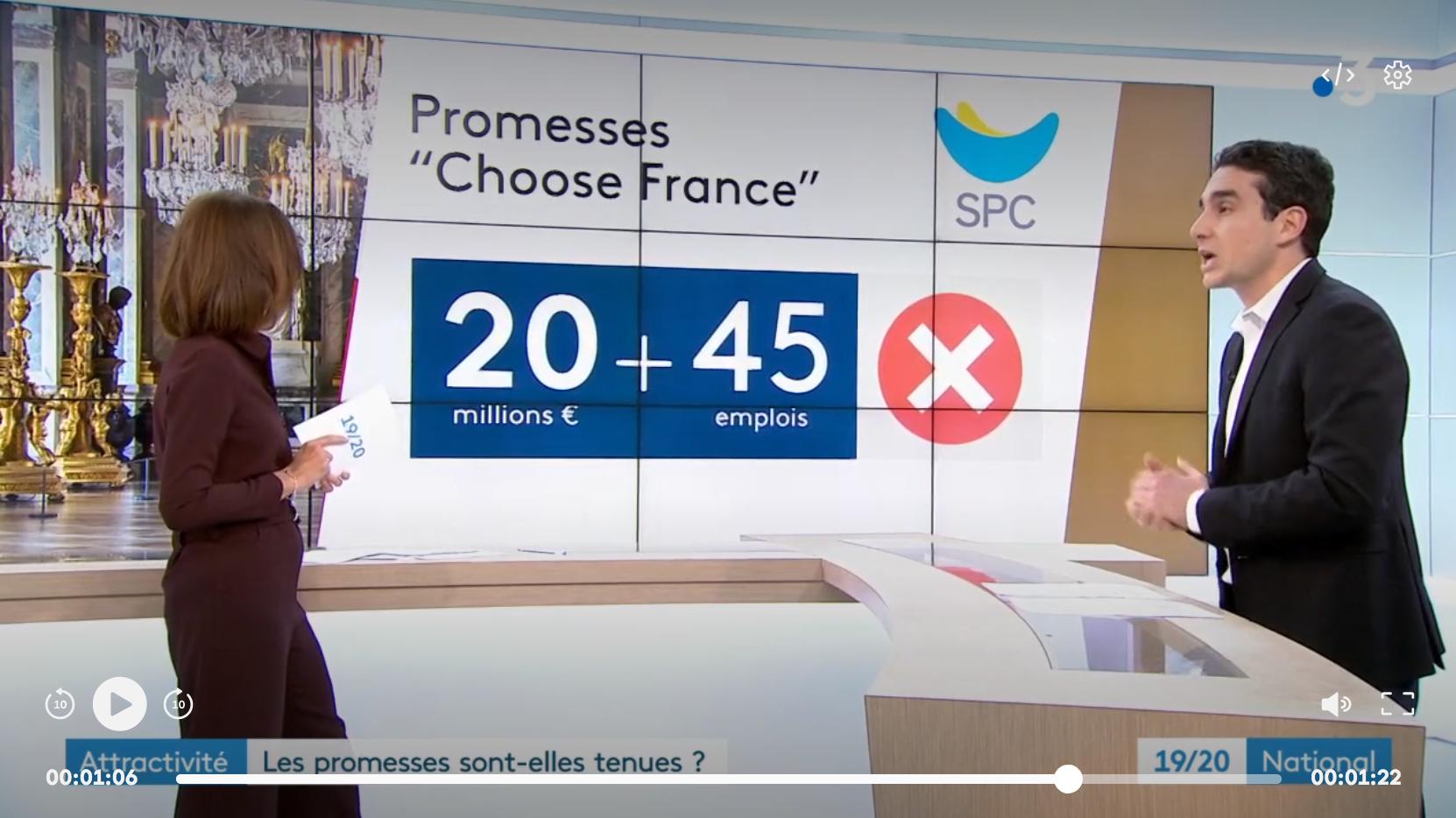 """""""Choose France"""" à Versailles : les promesses d'investissement sont-elles tenues ?"""