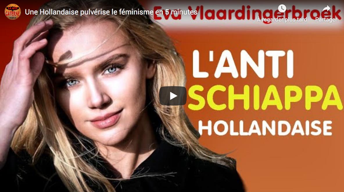 Une Hollandaise pulvérise le féminisme en 5 minutes (VF)
