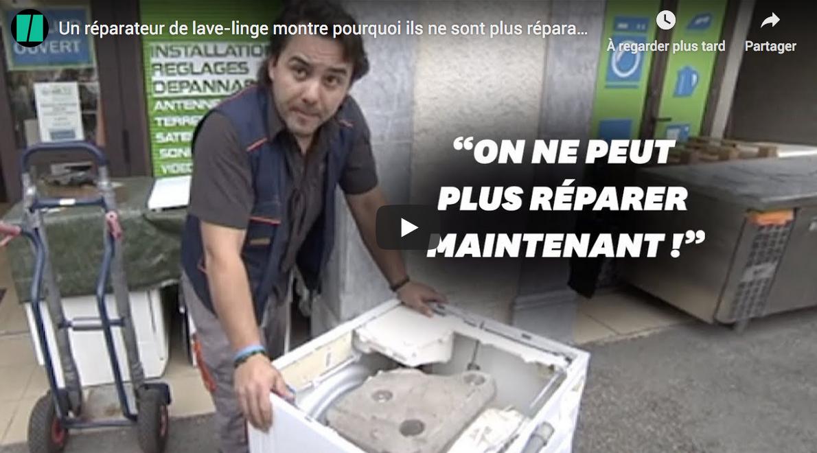 Un réparateur de lave-linge montre pourquoi ils ne sont plus réparables aujourd'hui (VIDÉO)