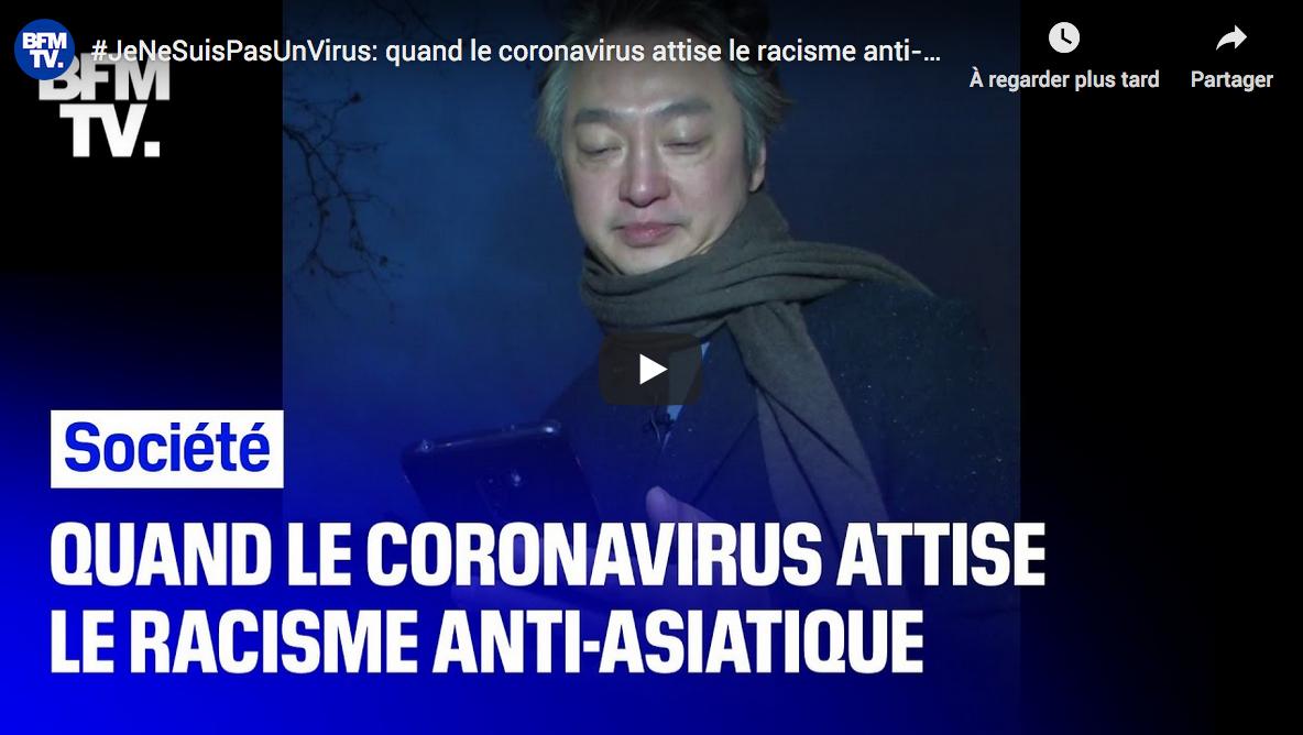 Le coronavirus, prétexte à une nouvelle louche d'antiracisme (VIDÉO)