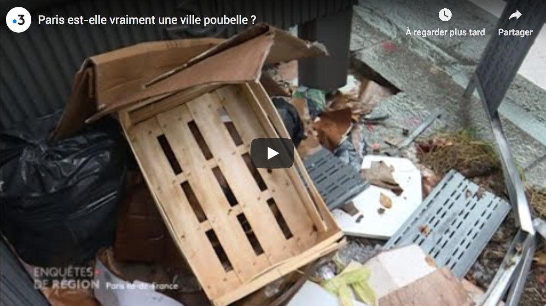 Paris, ville poubelle ?