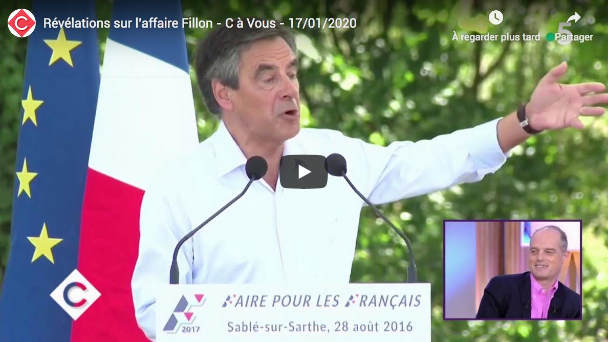 Révélations sur l'affaire Fillon (Gérard Davet et Fabrice Lhomme)