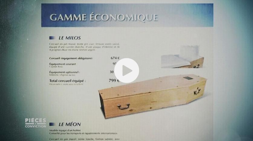 """Pompes funèbres : le cercueil économique, """"on ne le cache pas… on ne le montre pas"""" (ENQUÊTE)"""