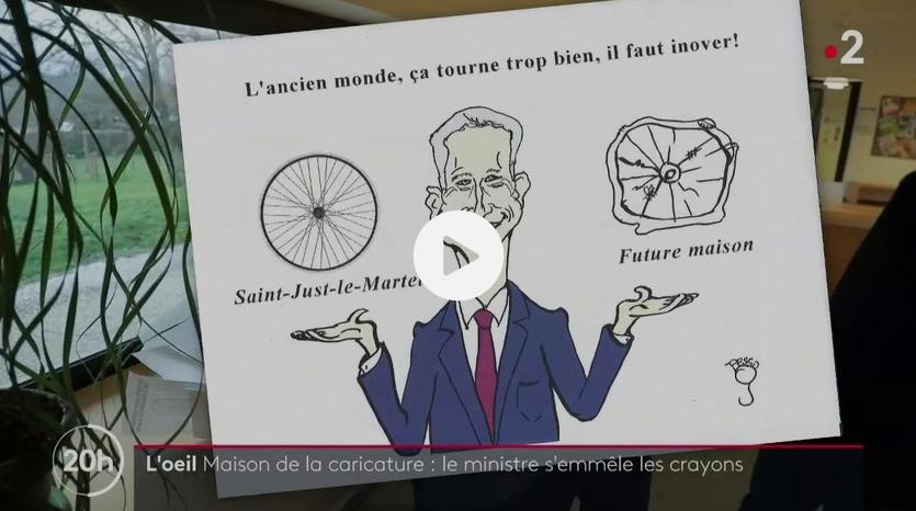 """Maison de la presse satirique : l' """"invention"""" du ministre existe déjà !"""