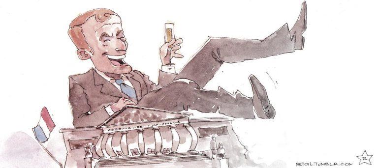 Un capitaine sans boussole sur un bateau ivre !