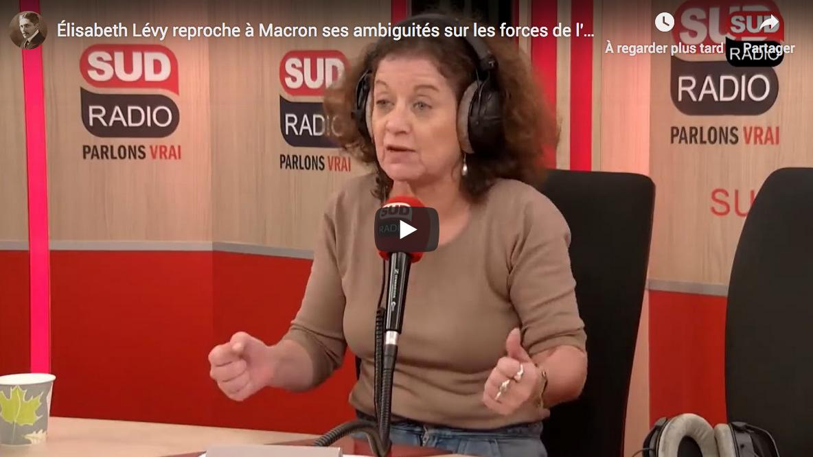 """Élisabeth Lévy : """"Ce pétage de plomb n'est pas forcément une montée de la violence dans la société"""" (VIDÉO)"""