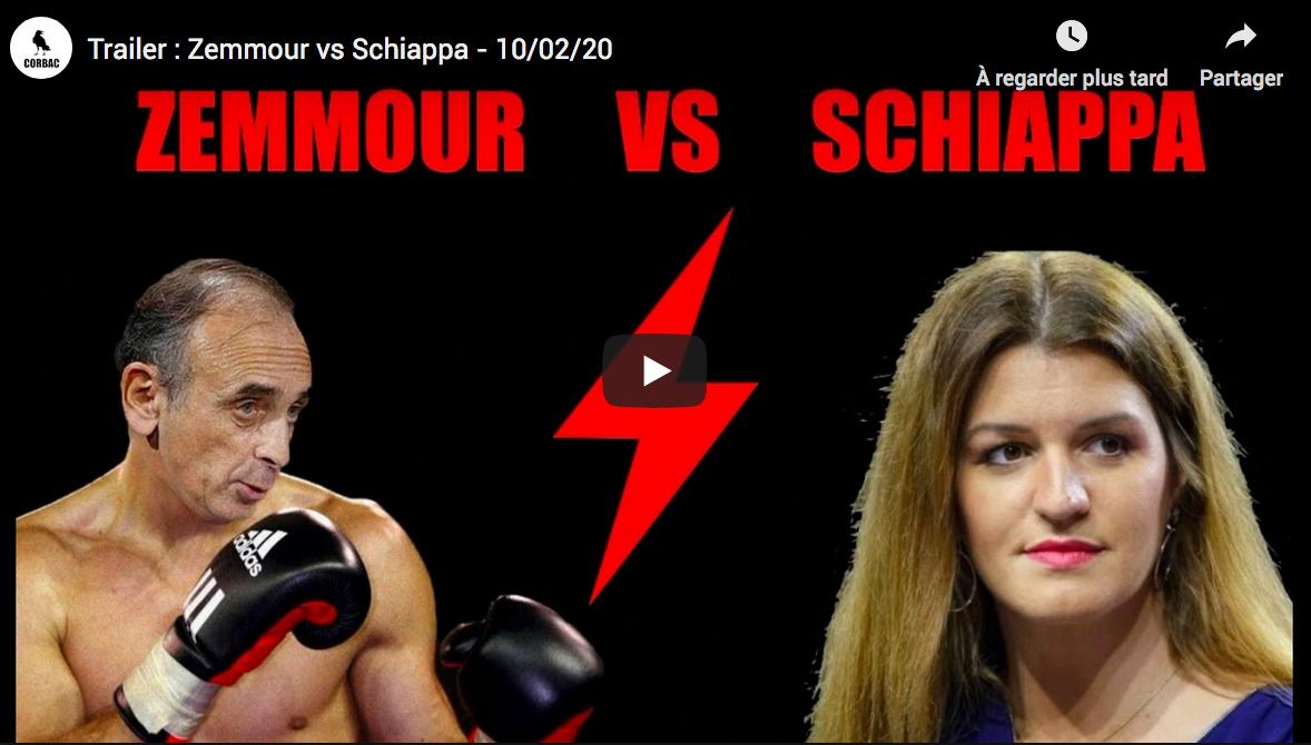 Débat contre Marlène Schiappa : Eric Zemmour explose les compteurs avec près de 500 000 téléspectateurs (dont 100 000 pour la rediff')