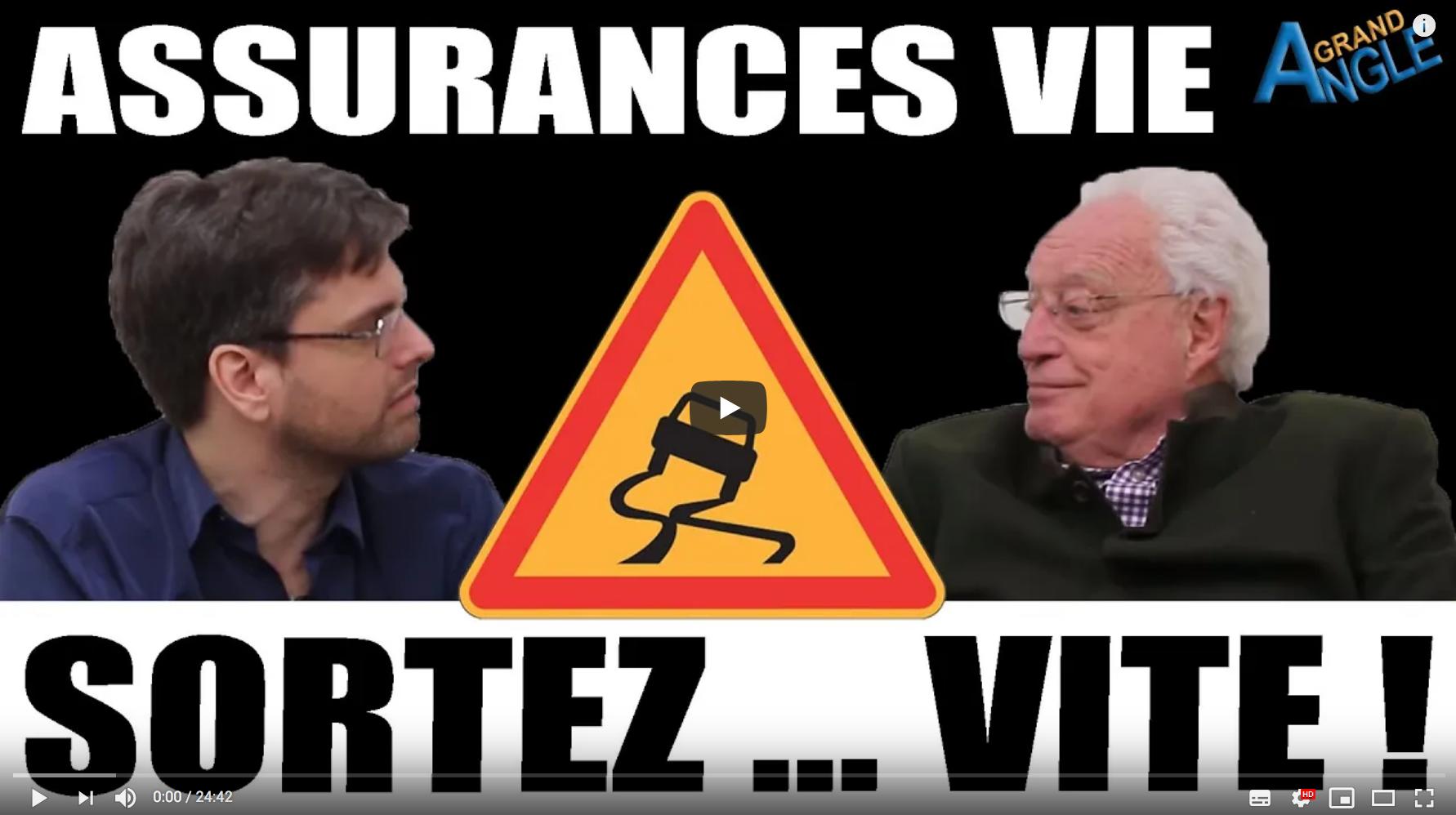 """Charles Gave : """"Les assurances vie en euros sont condamnées. Retirez votre argent maintenant !"""" (VIDÉO)"""