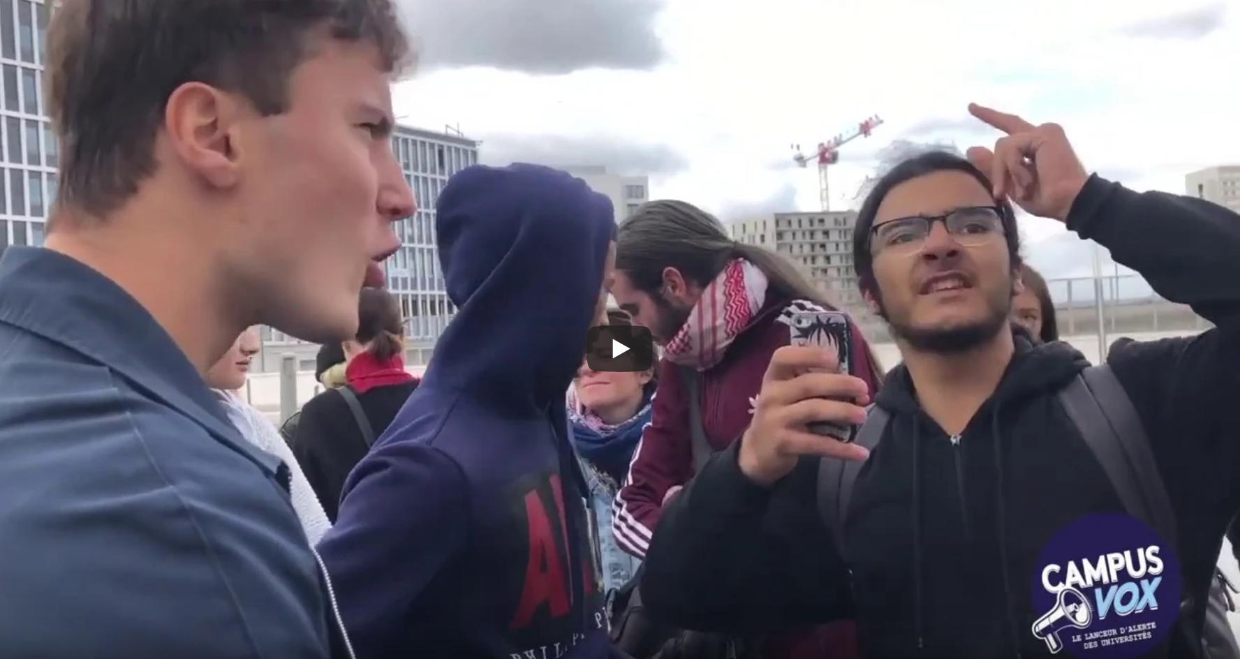 NPA Nanterre : idiot utile ou rempart contre la haine ? Débat entre un étudiant de la Cocarde et un militant d'extrême gauche (VIDÉO)
