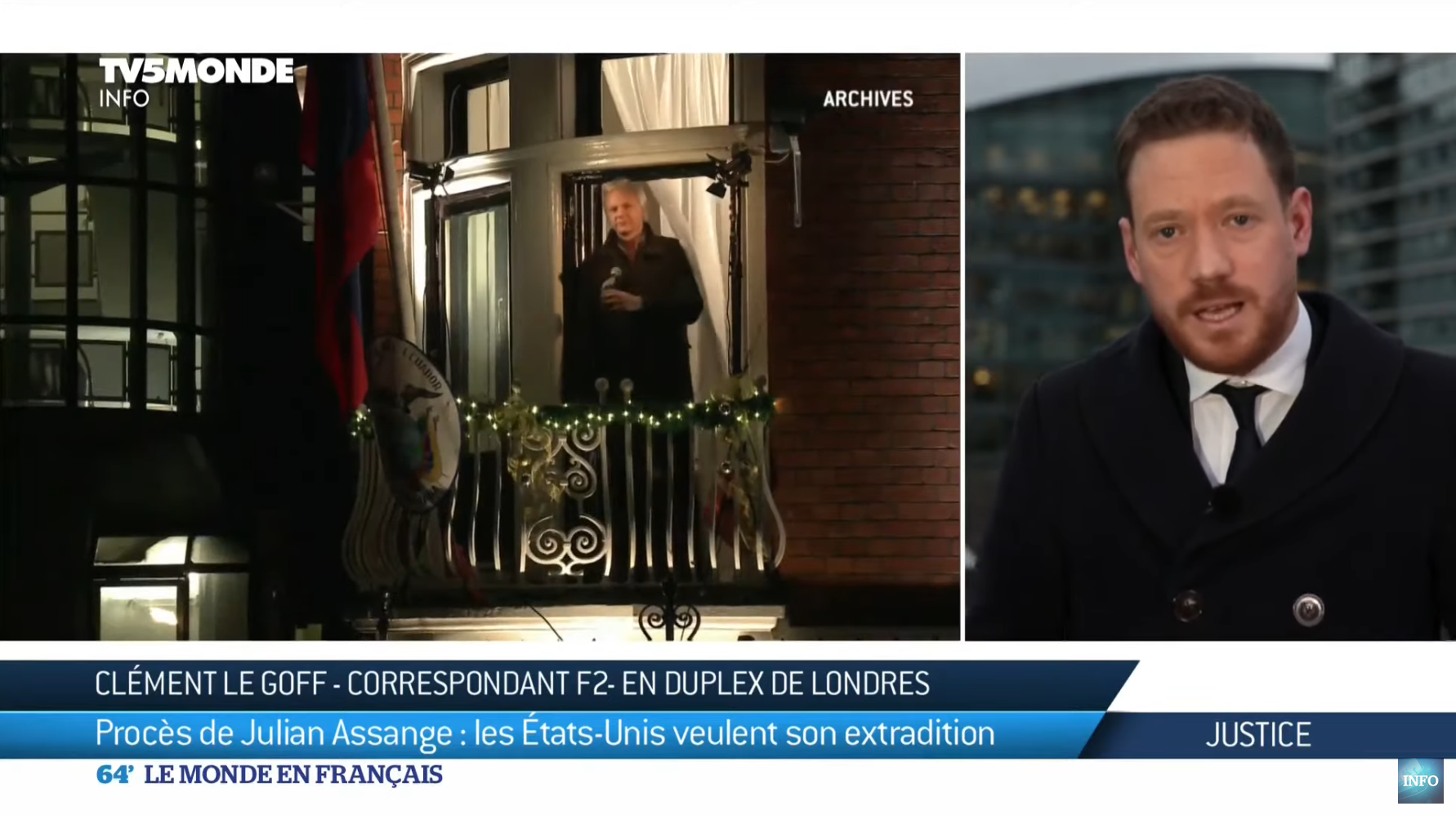 Procès de Julian Assange : les États-Unis veulent son extradition (DÉCRYPTAGE)
