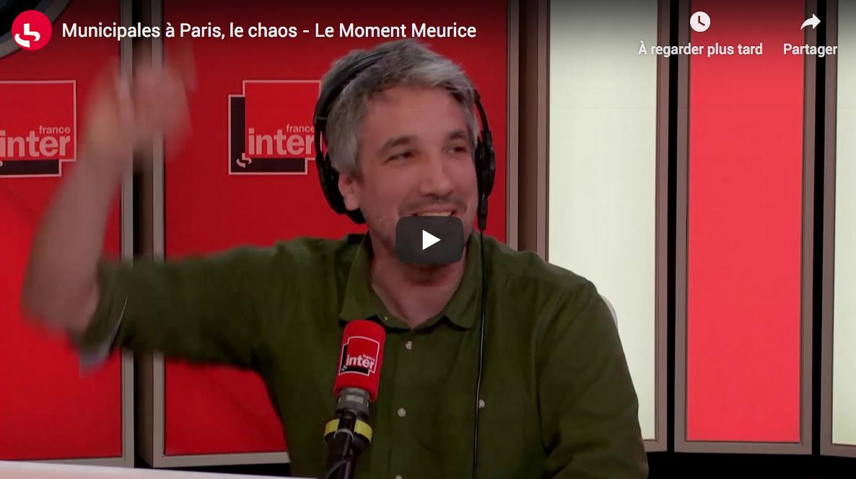 Municipales à Paris, le chaos (Guillaume Meurice)