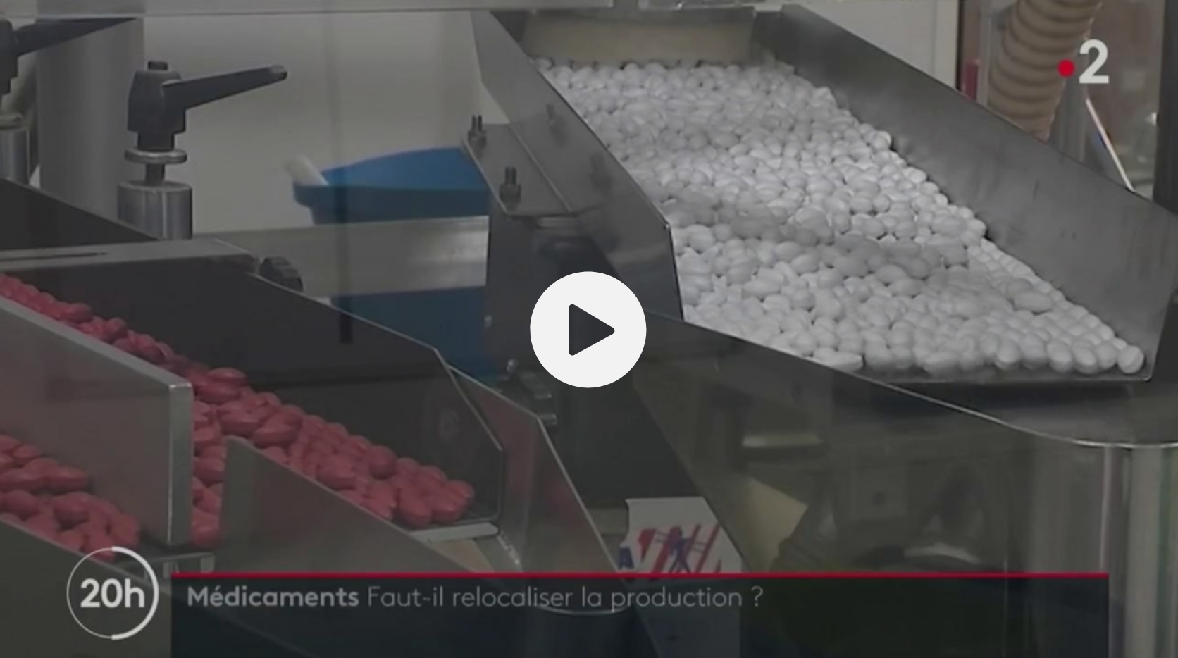 Médicaments : il faut relocaliser la production en France