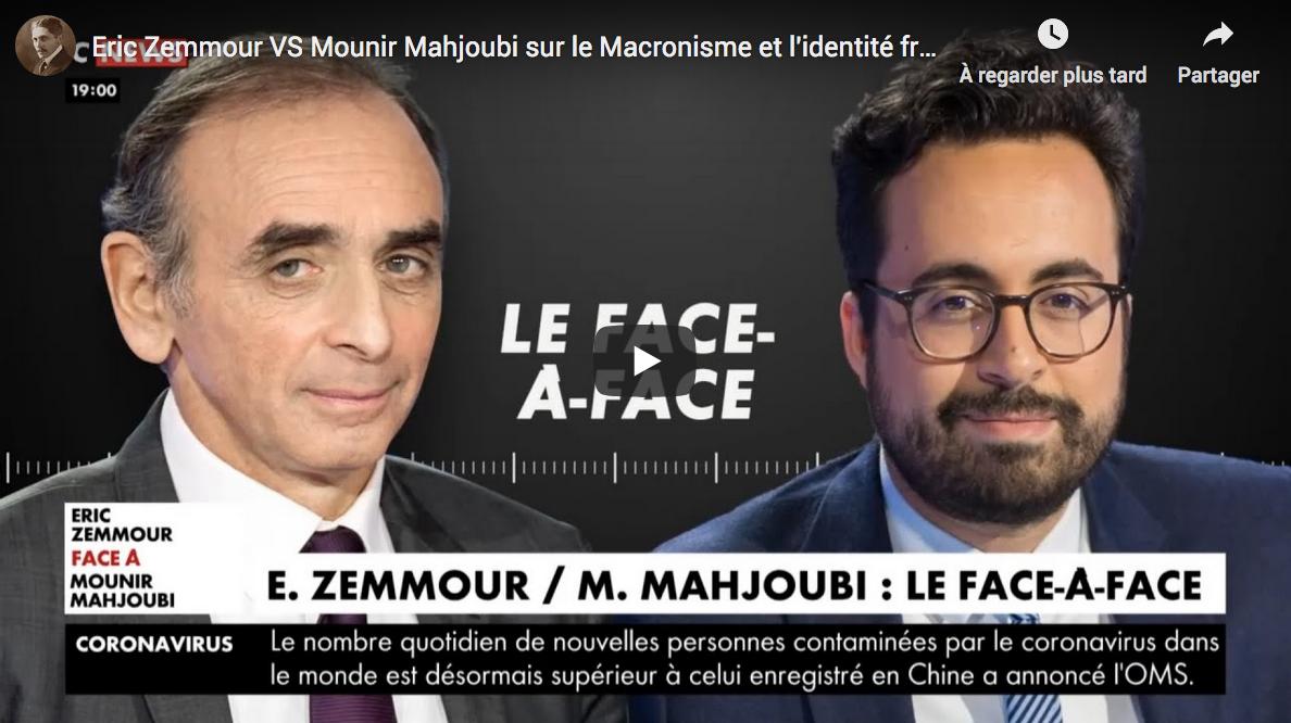 Le Macronisme et l'identité française : Éric Zemmour VS Mounir Mahjoubi (DÉBAT)