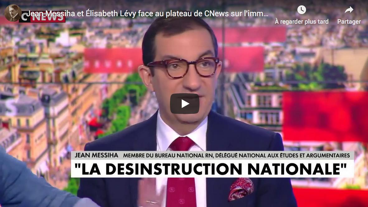 Jean Messiha et Élisabeth Lévy VS le reste du plateau de CNEWS sur l'immigration et l'Éducation nationale (DÉBAT)