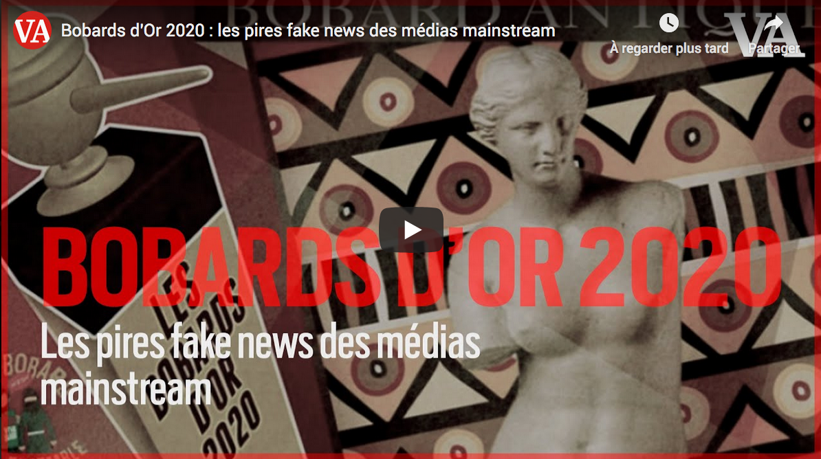 Bobards d'Or 2020 : les pires fake news des médias mainstream (REPORTAGE)