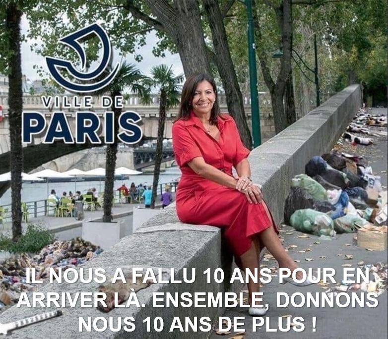 Paris est Plein, Plein, Plein, … Plein de Parasites