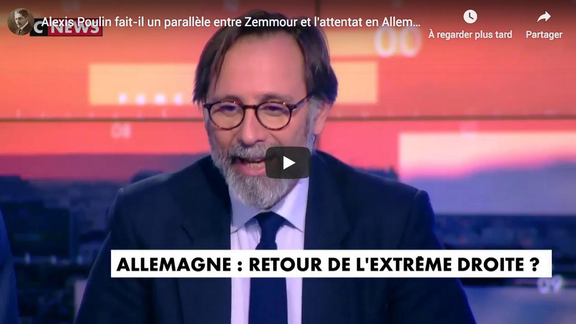 """Alexis Poulin : """"Je ne veux pas qu'on aille vers la société de surveillance globale !"""""""