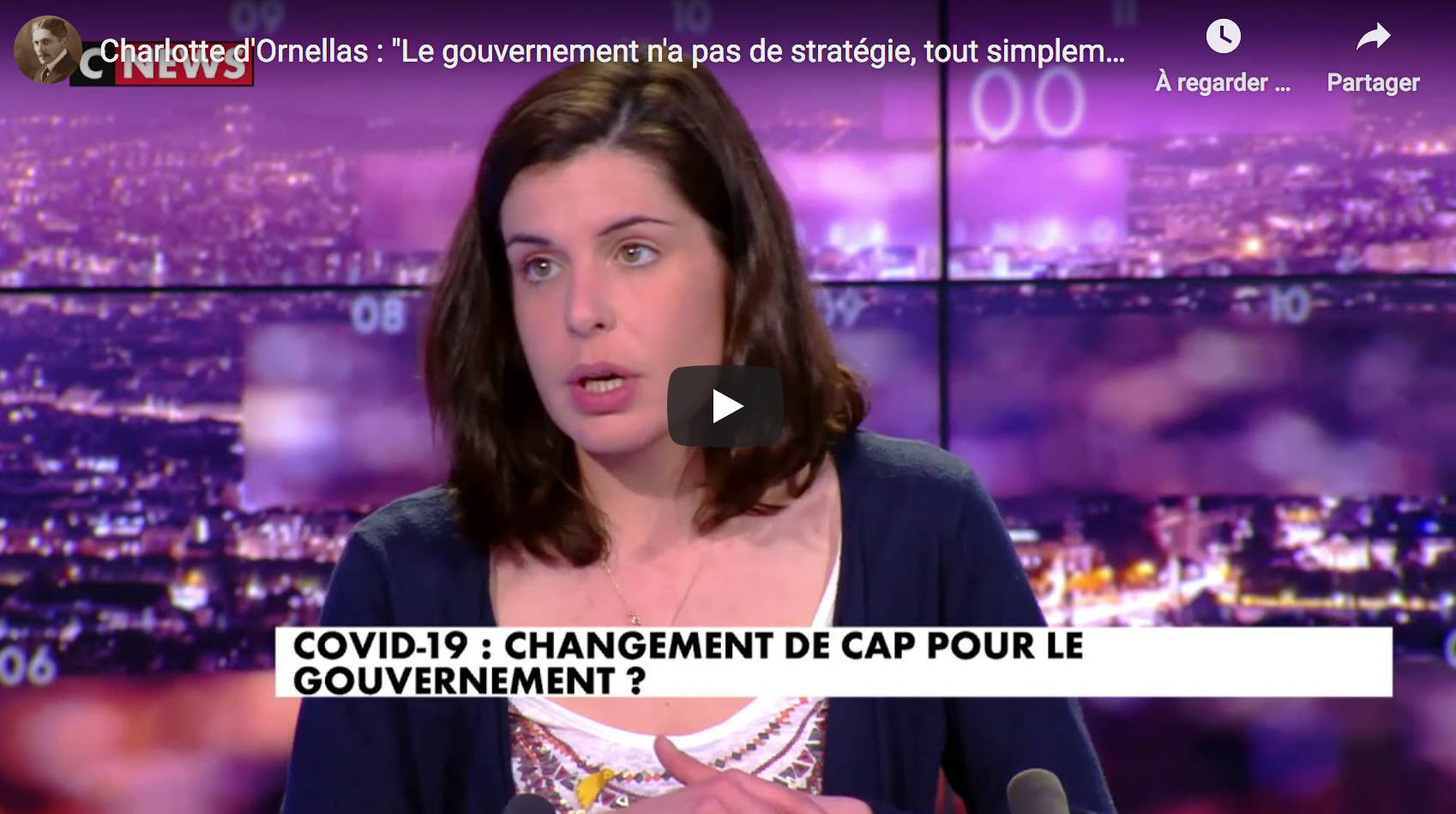 """Charlotte d'Ornellas : """"Le gouvernement n'a pas de stratégie, tout simplement"""" (VIDÉO)"""