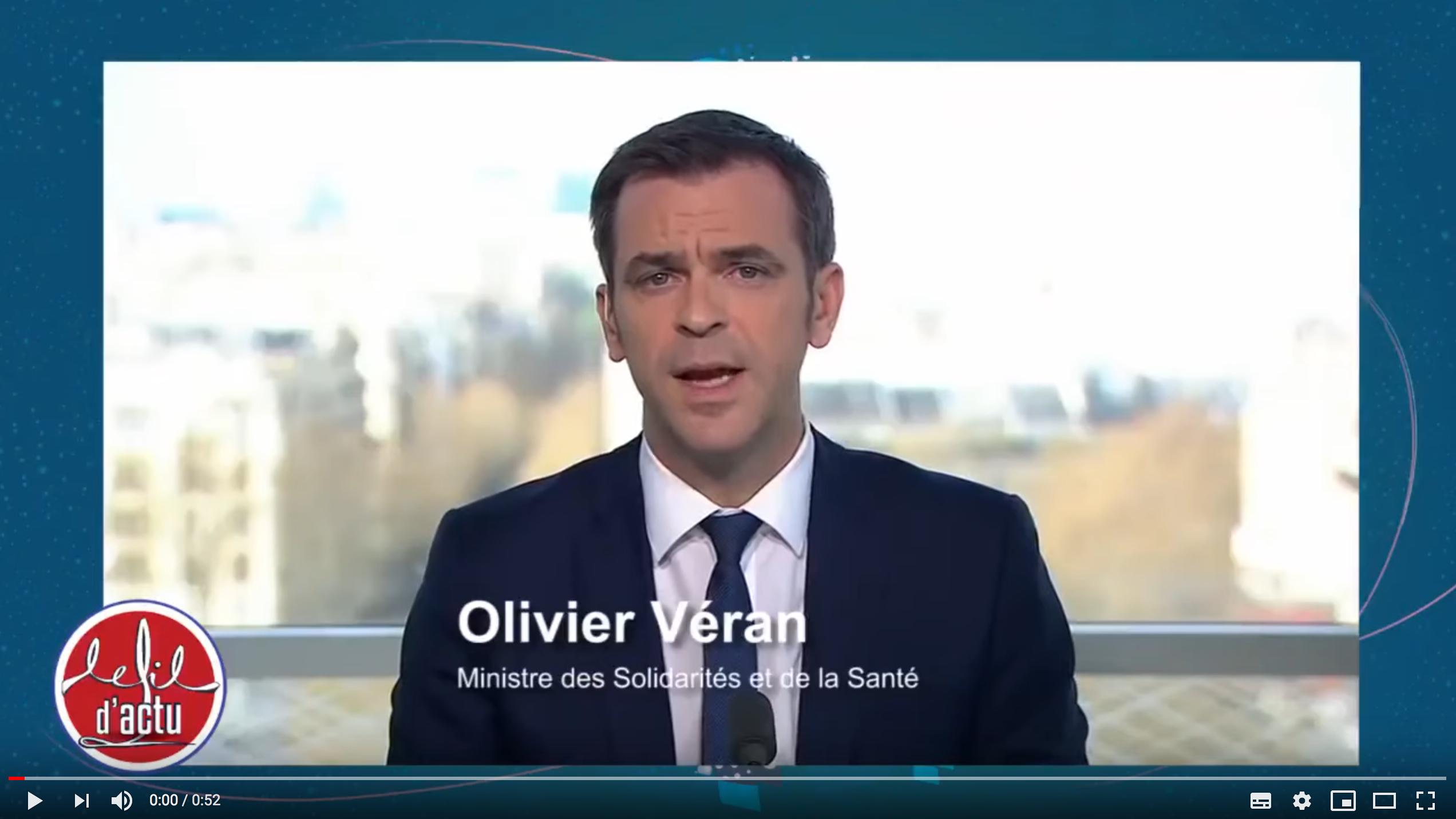 Olivier Véran pense que les soignants n'attrapent pas le virus au contact des malades… (VIDÉO)