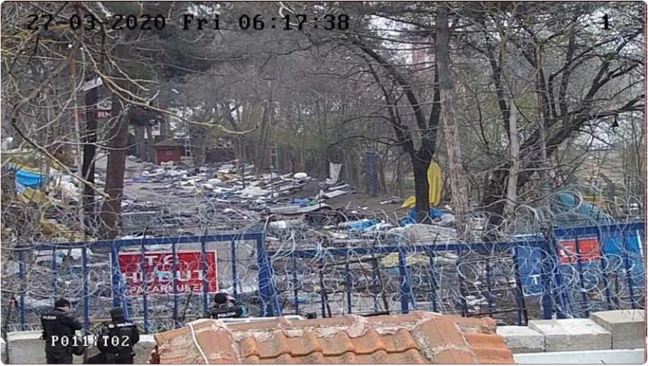La Grèce a tenu bon : les envahisseurs islamistes envoyés par Erdogan ont rebroussé chemin (PHOTOS)