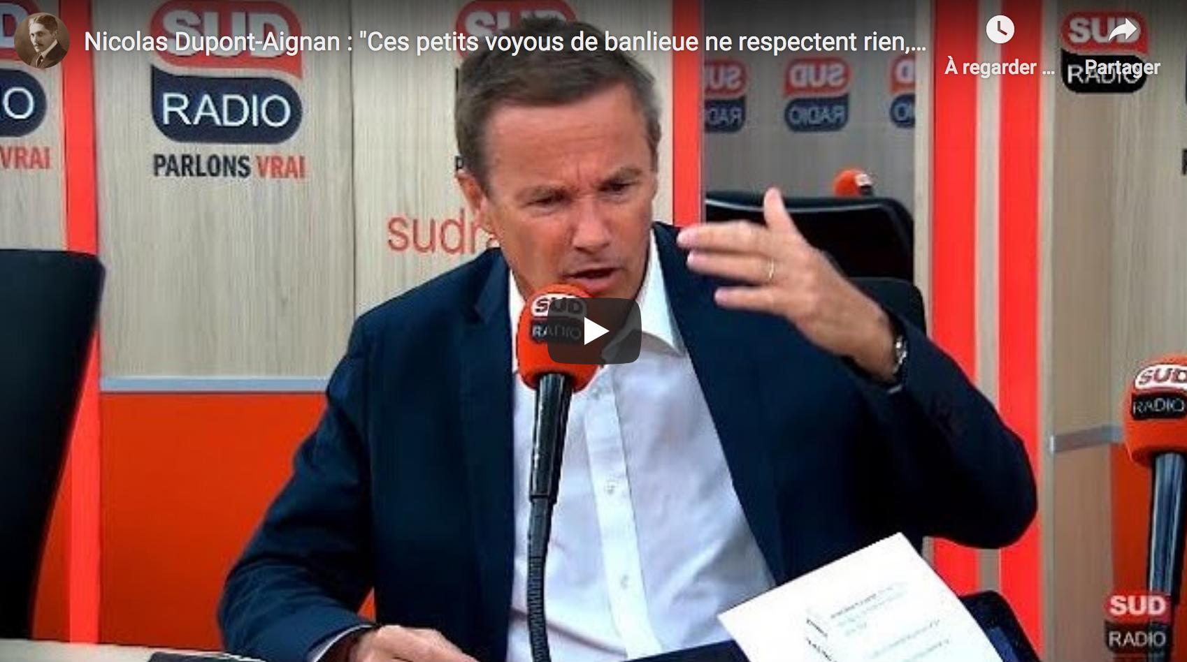 """Nicolas Dupont-Aignan : """"Leur rêve, c'est la Chine"""" (VIDÉO)"""