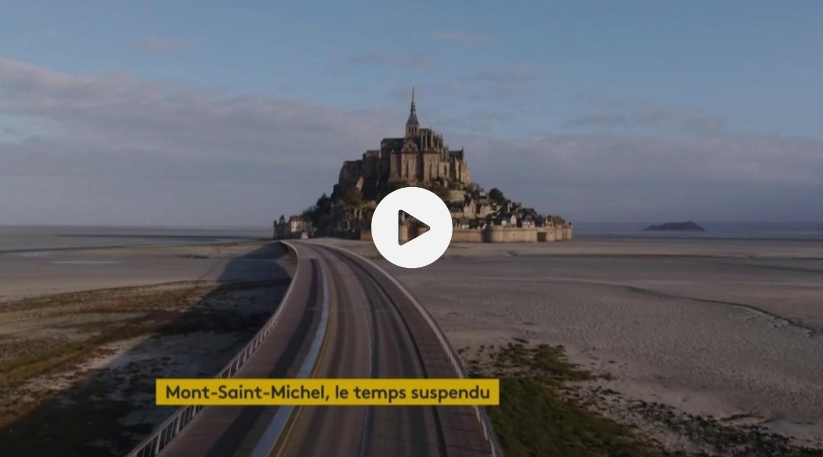 Le temps arrêté sur le Mont-Saint-Michel (VIDÉO)