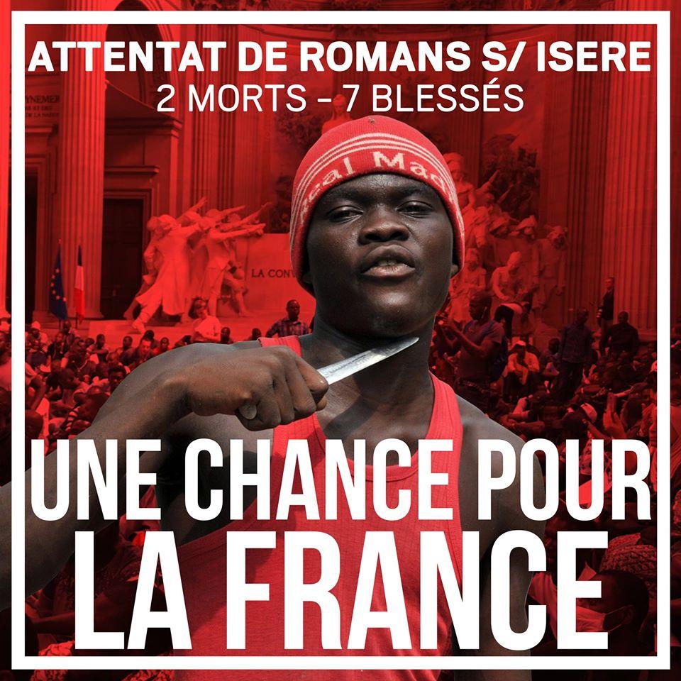 Le Soudanais terroriste islamiste de Romans-sur-Isère : chance pour la France ?