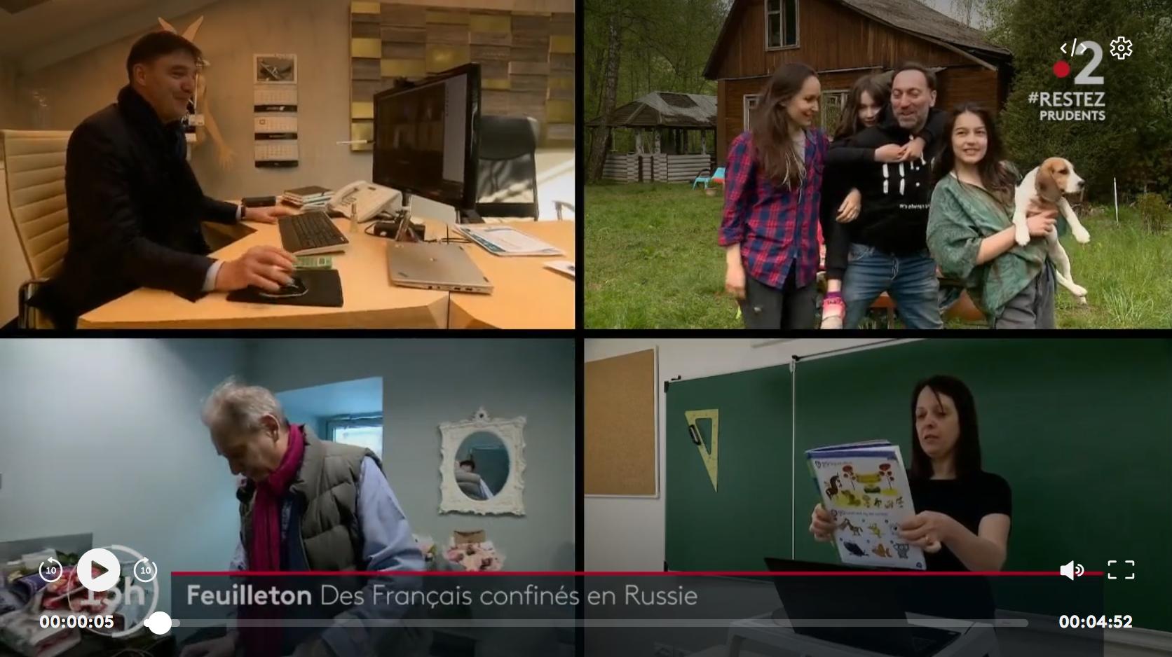 Coronavirus : ces Français toujours confinés en Russie (REPORTAGE)