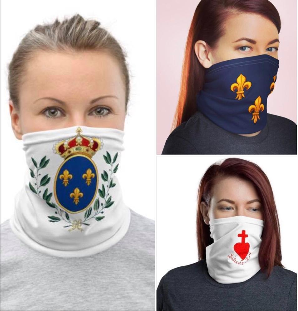 Le masque, oui, mais avec classe