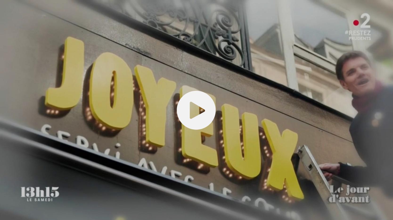 """Le fondateur de la chaîne Café Joyeux : """"On pense que le travail est un trésor qui doit être accessible à tous"""" (VIDÉO)"""