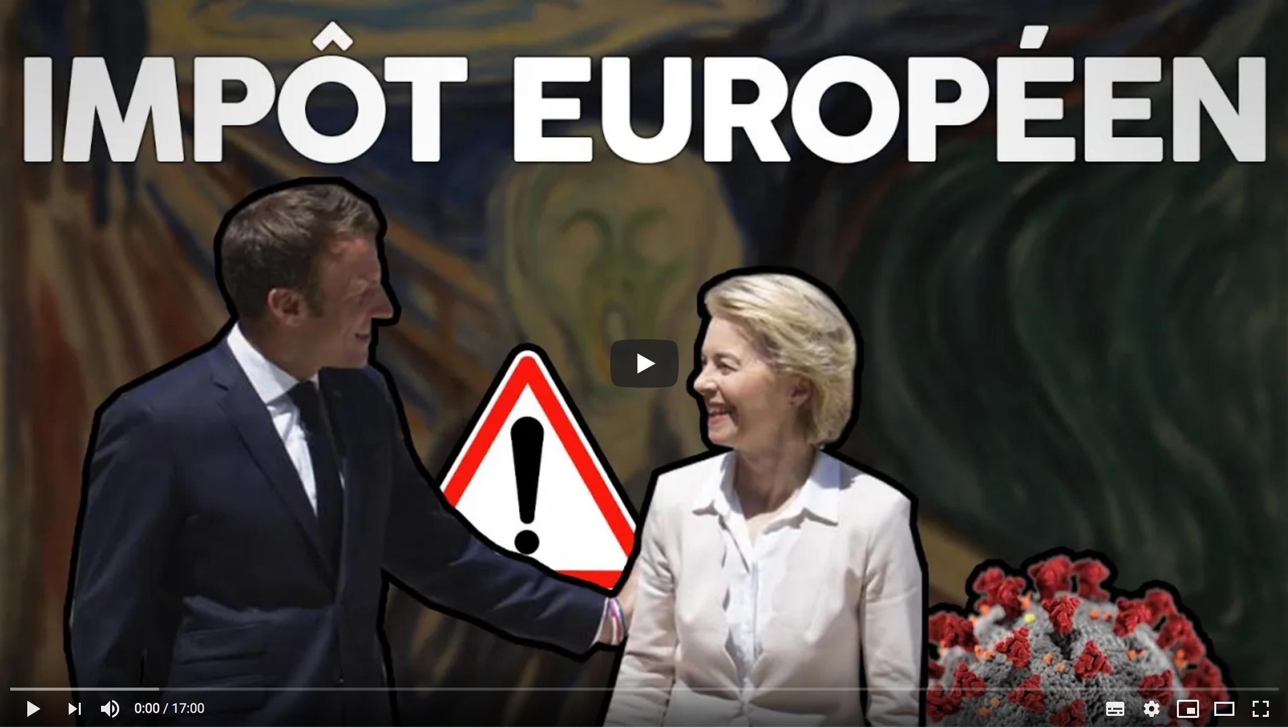 Ils profitent du coronavirus pour imposer l'impôt européen ! (Florian Philippot)