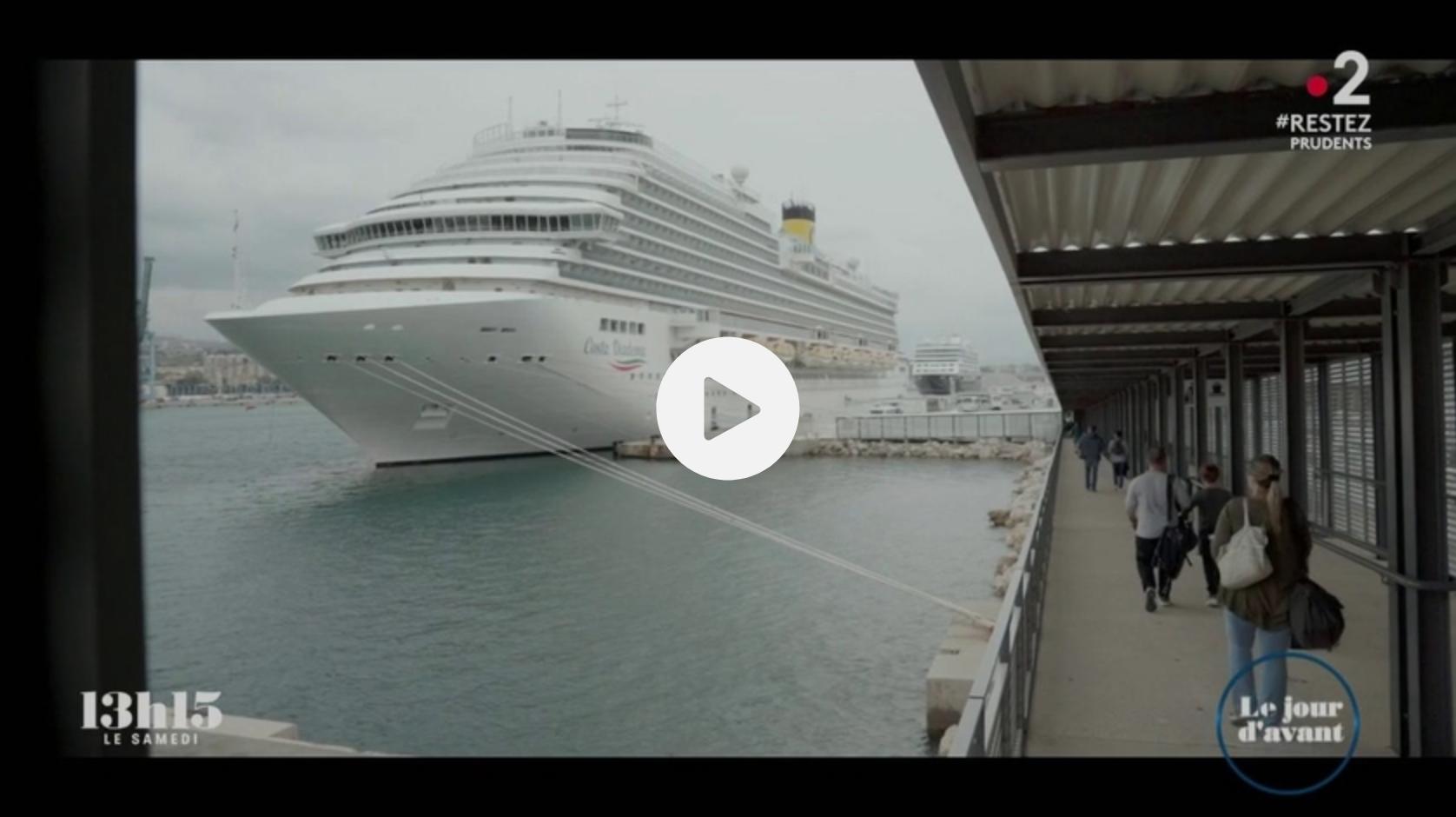 Marseille : Un navire de croisière émet autant d'oxydes de soufre qu'un million de voitures quand il est à quai (VIDÉO)
