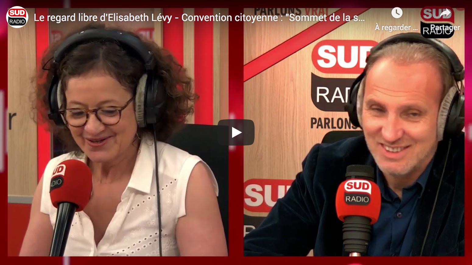 """Convention citoyenne : """"Sommet de la supercherie !"""" (Le regard libre d'Élisabeth Lévy)"""
