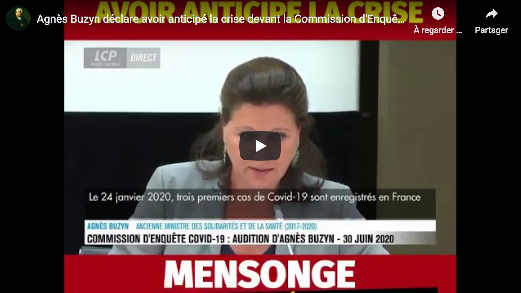 Agnès Buzyn déclare avoir anticipé la crise devant la Commission d'Enquête (VIDÉO)