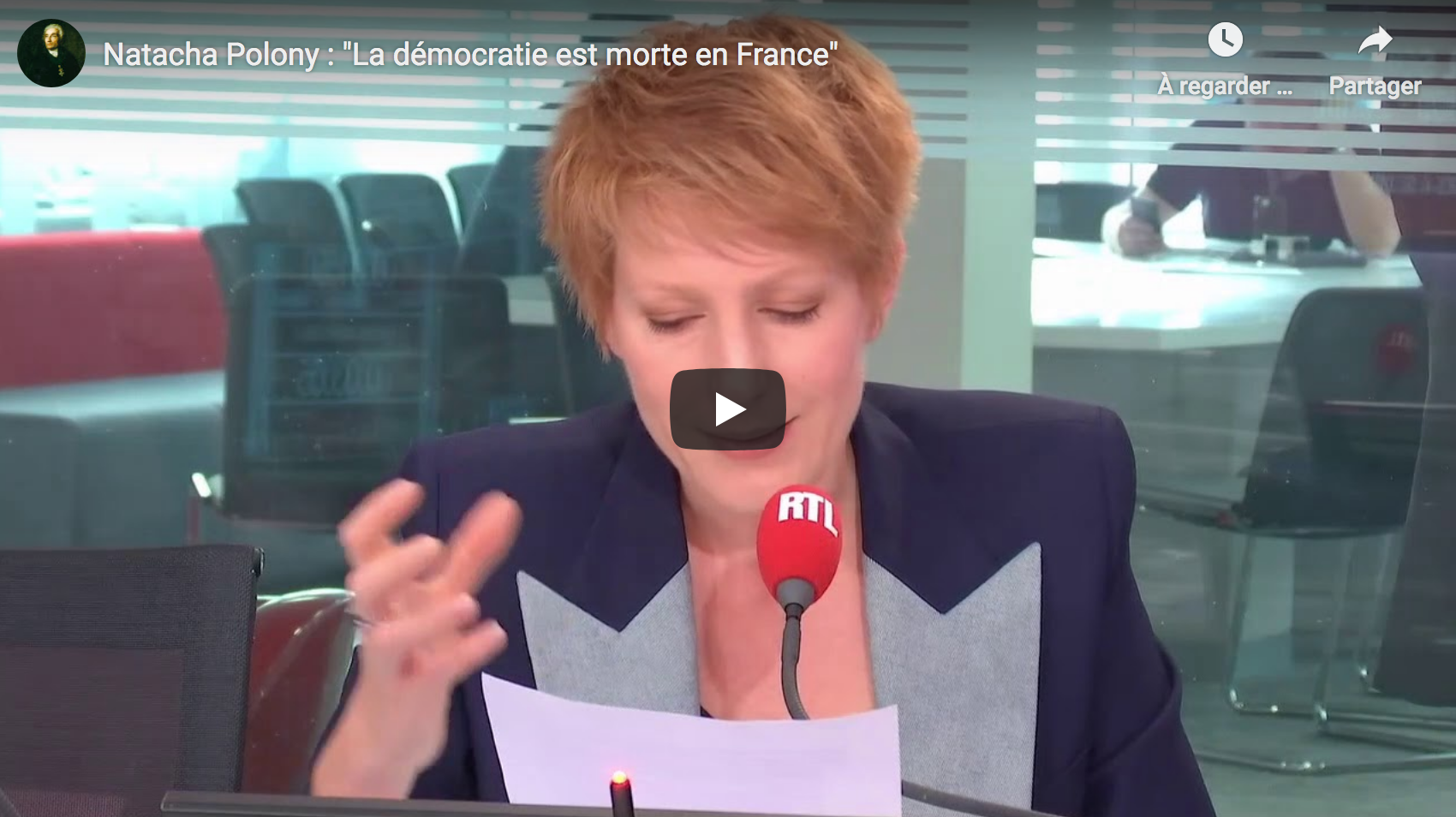 "Natacha Polony : ""La démocratie est morte en France"" (ANALYSE)"
