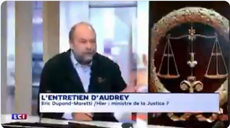 """Éric Dupond-Moretti ministre de la Justice ? """"Je n'accepterai jamais"""" expliquait-il sur les plateaux il y a quelques mois… (VIDÉO)"""