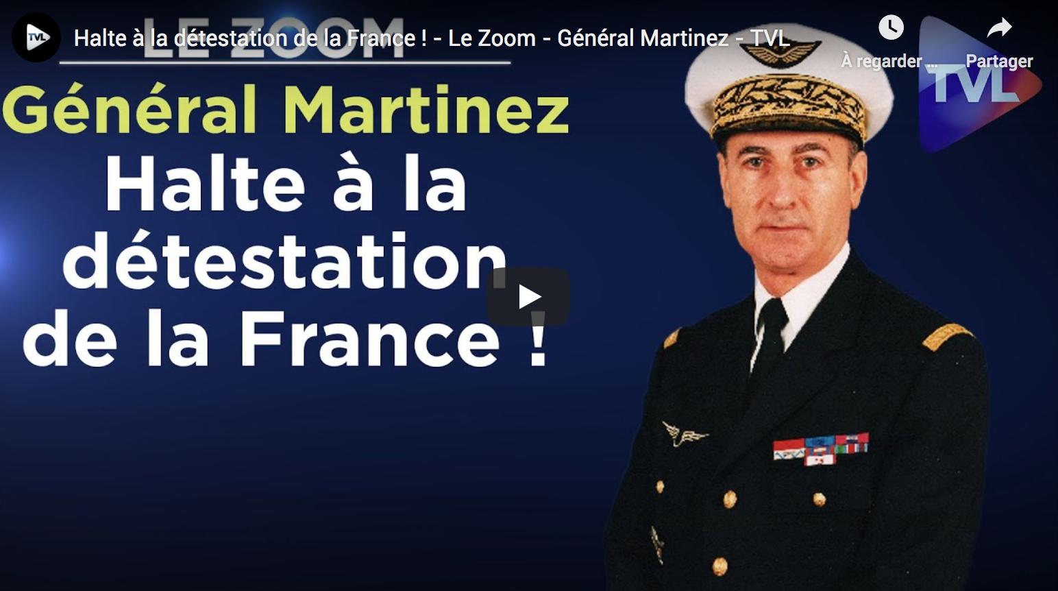 Halte à la détestation de la France ! Rencontre avec le Général Martinez, candidat à l'élection présidentielle de 2022 (ENTRETIEN)