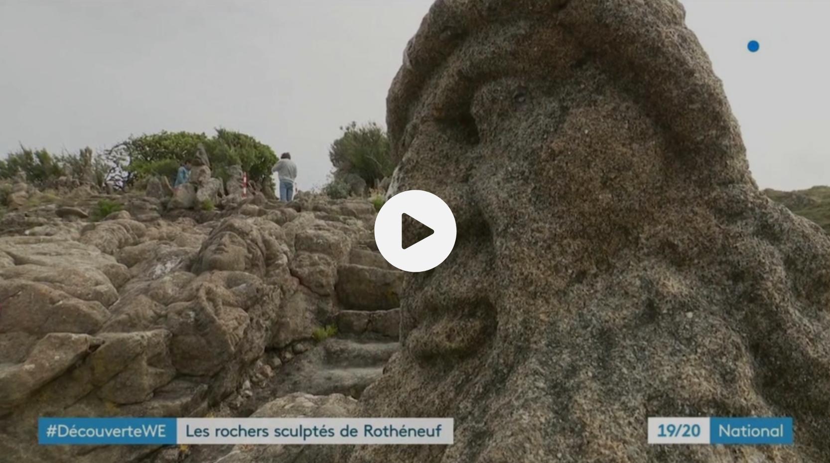 Les rochers sculptés de Rothnéneuf (DÉCOUVERTE)